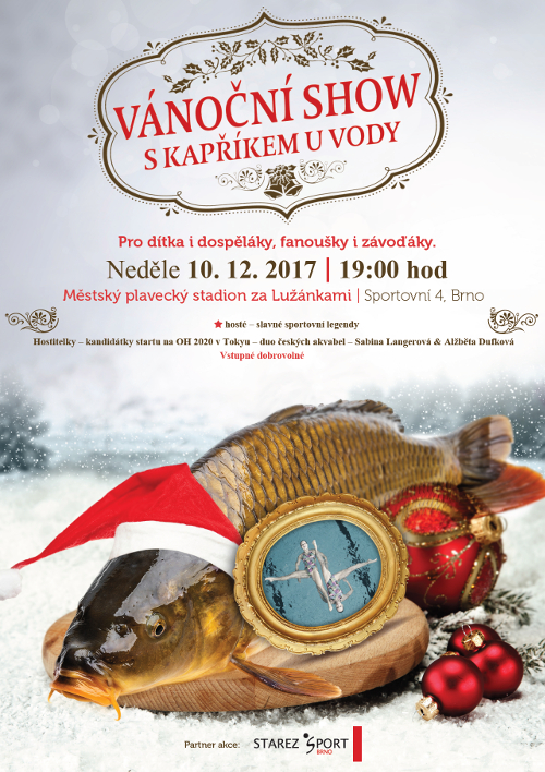 akvabely vanoce 2017